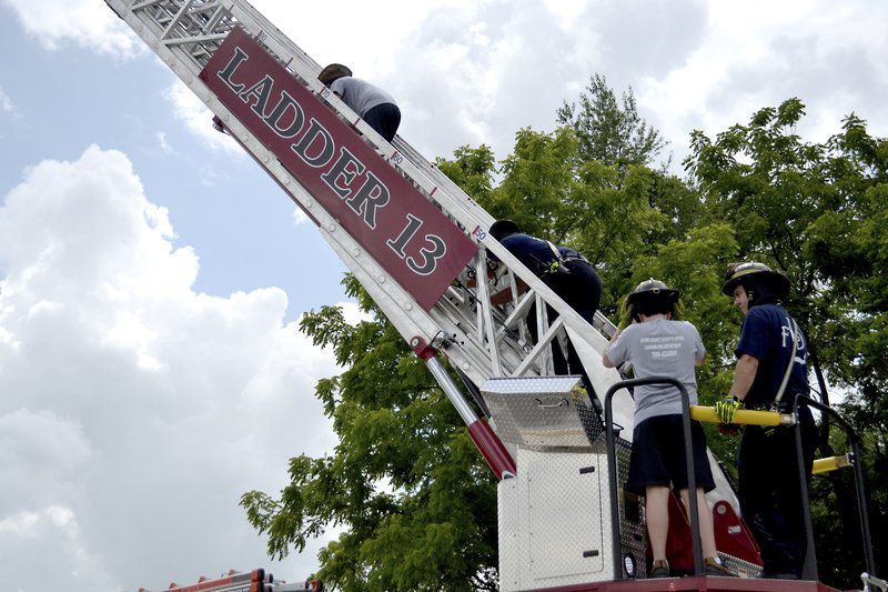 Teens learn from public safety professionals