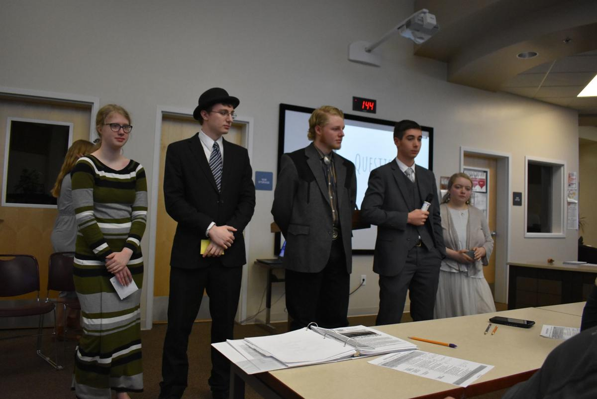 Madison High School students present 'Project Citizen'