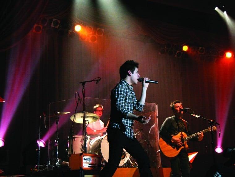 David Archuleta in concert