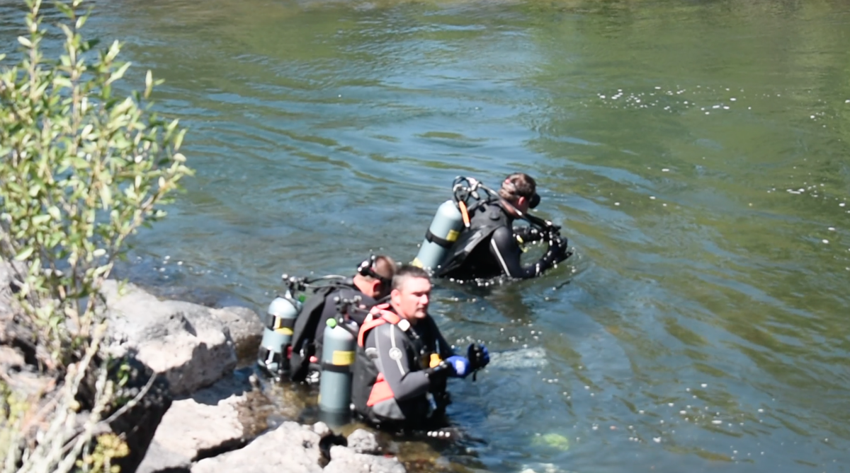 Fall River a popular site for scuba divers