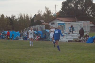 Sugar-Salem's Kennedy Chambers kicks the ball.