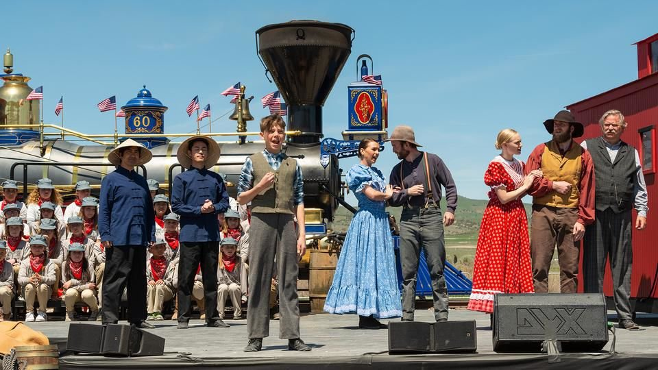 Latter-day Saints Among Many Celebrating 150th Anniversary of the Transcontinental Railroad