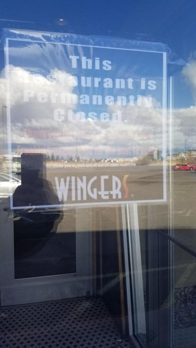 wingers closed.