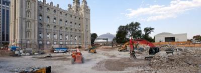 A Window Into Past, Present and Self: Salt Lake Temple Renovation Enters the Foundation-Strengthening Phase