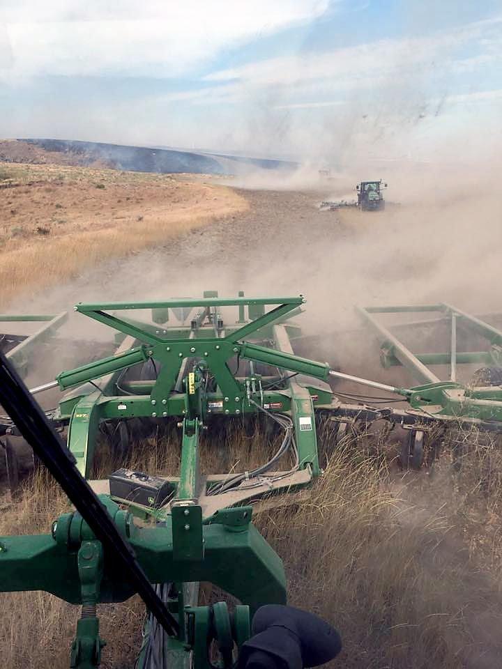 Farmer disc fire line