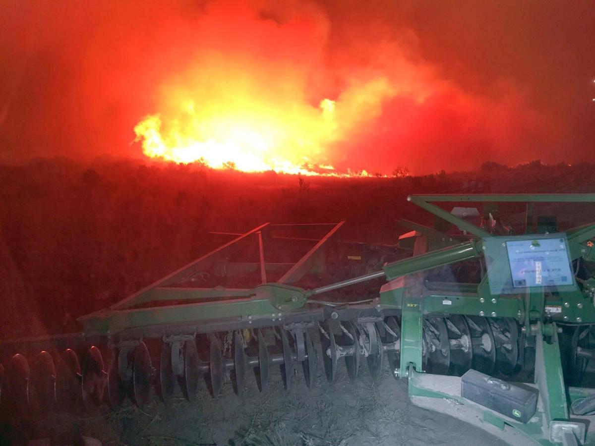 Farmer fire