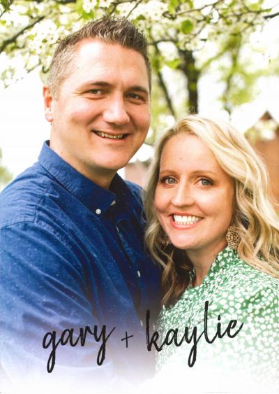 Gary Christensen and Kaylie Walker
