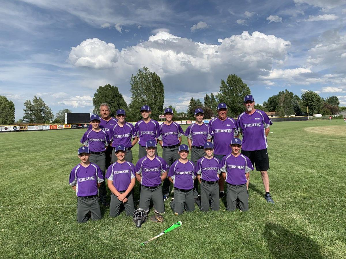 North Fremont's newly formed baseball team poses for a photo.