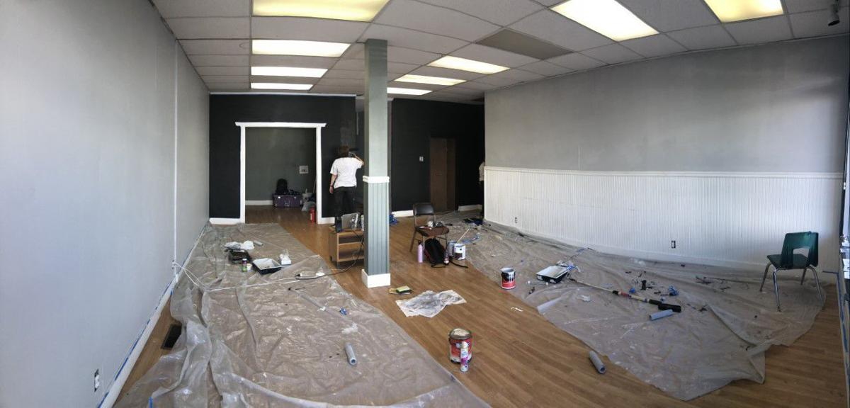 New Rexburg LGBTQ center, Martha's Place in the middle of renovations.