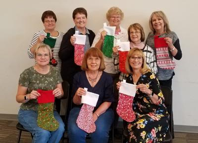 Rexburg Civic Club makes 615 stockings for soldiers and Shop-With-A-Cop program