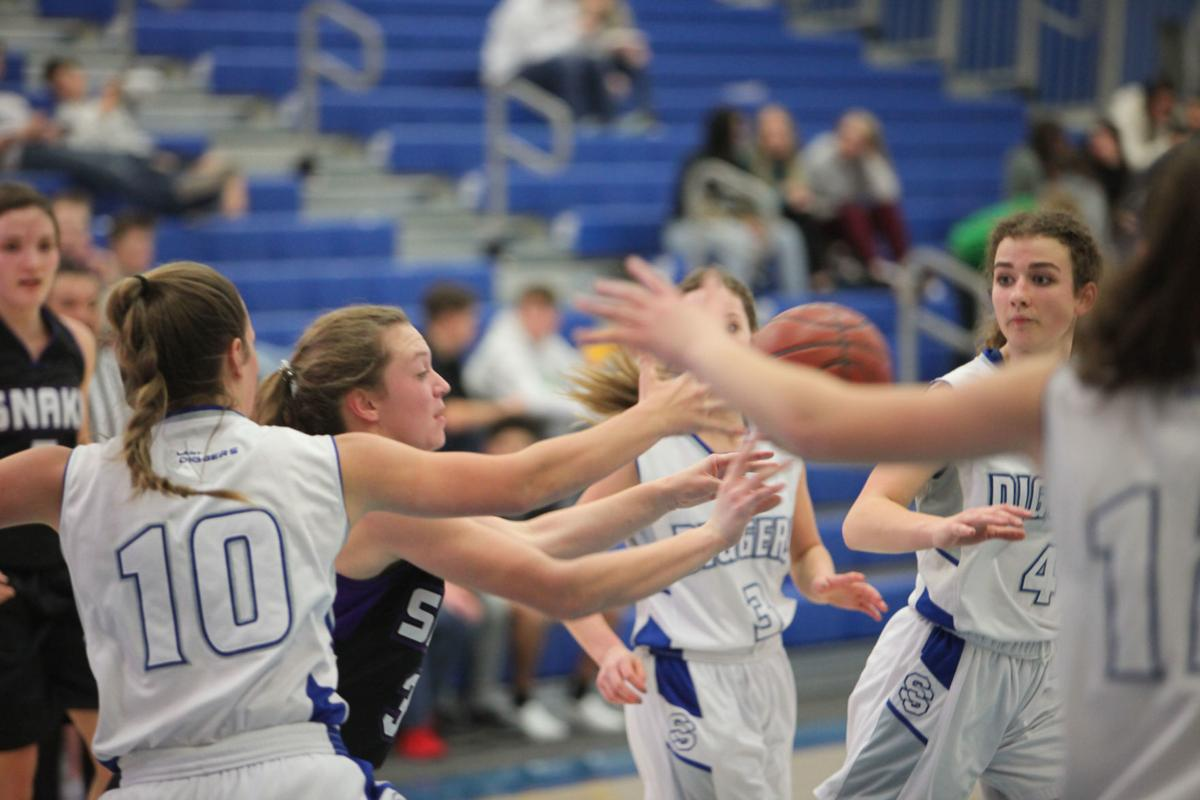 Sugar-Salem girls basketball vs Snake River
