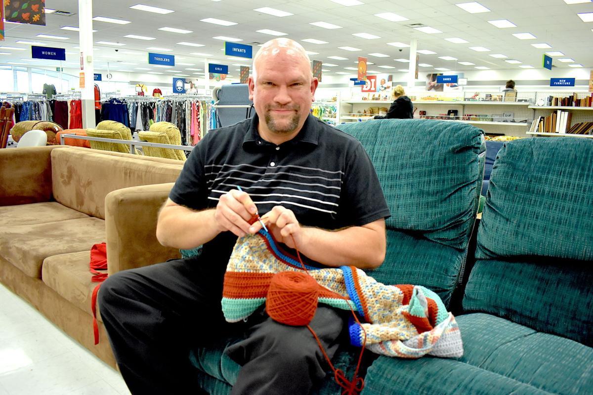 Former trucker crochets to heal traumatic brain injury