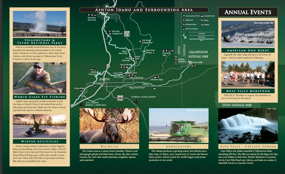 New Ashton travelers' brochure available