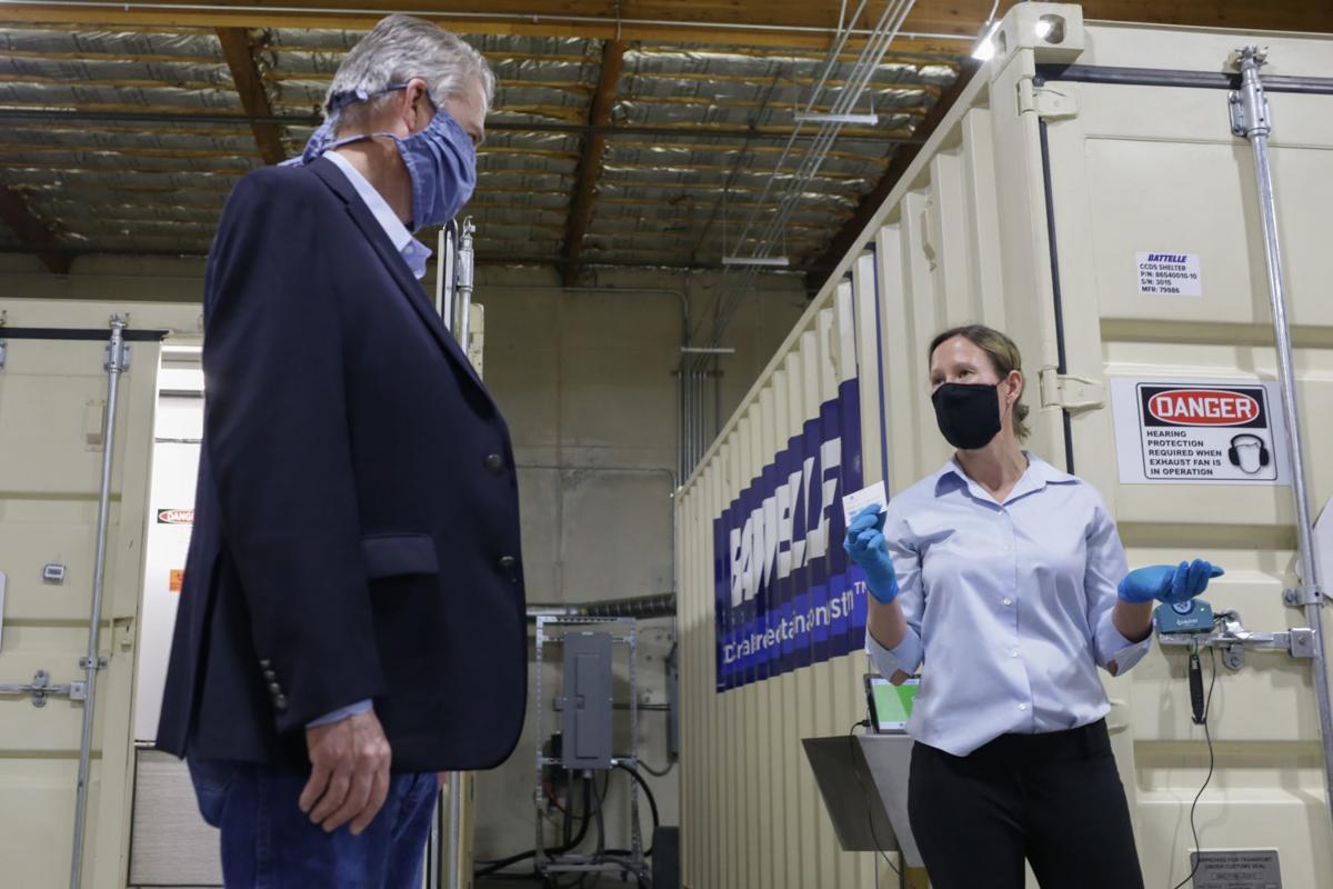 Battelle mask cleaning