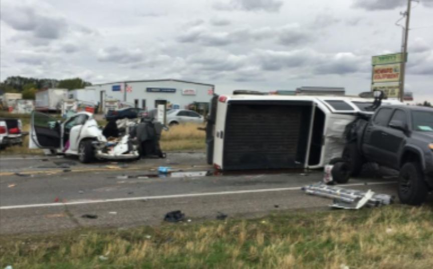 Highway 91 crash 2