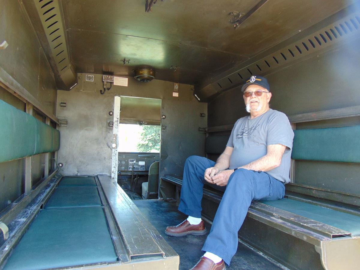 Peace promoted via veteran's 1969 Vietnam ambulance