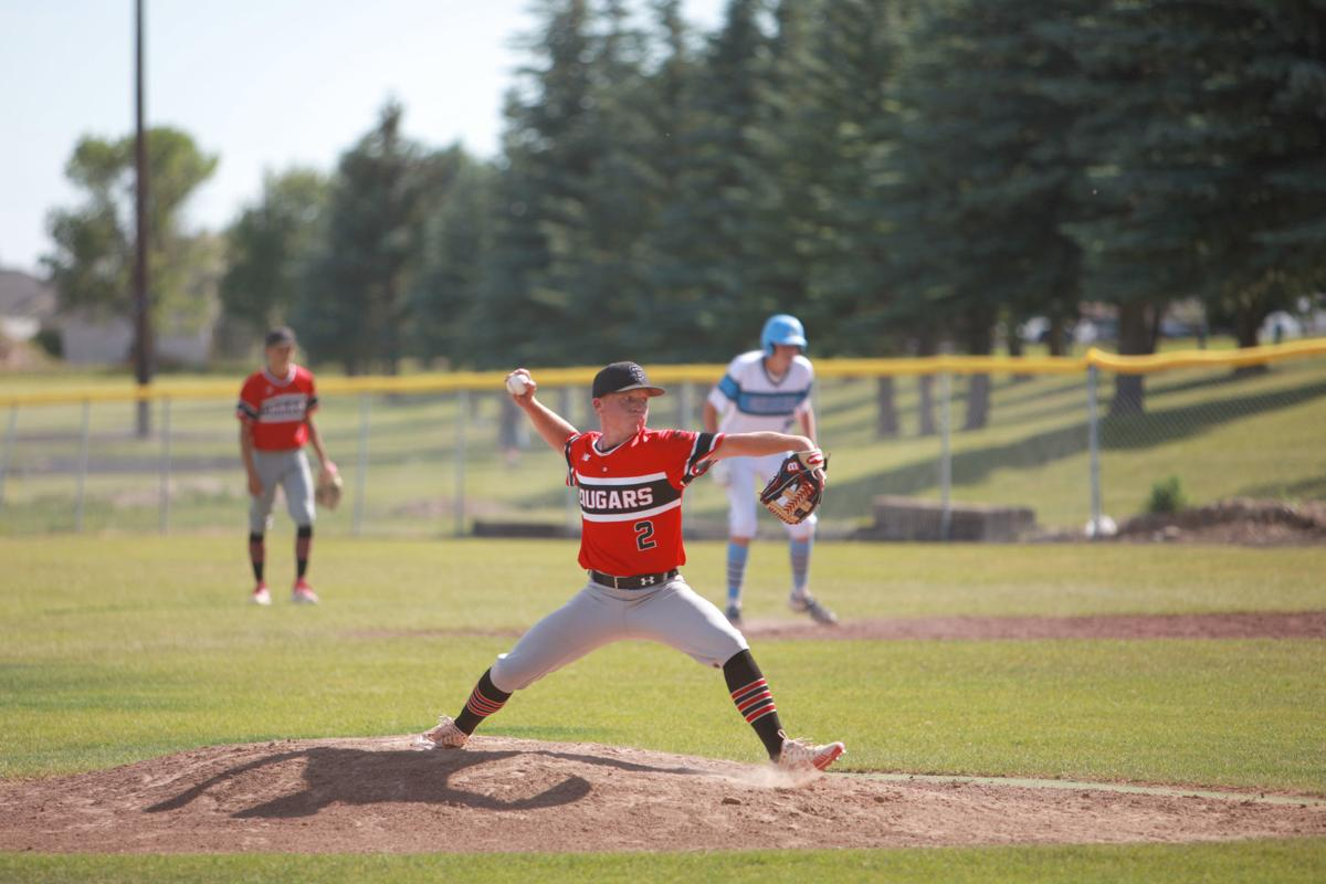 South Fremont's Cooper Crapo aims a pitch.