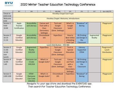 Tech Conference at BYU-Idaho to instruct aspiring educators ...