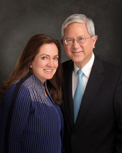 Elder Gerrit W. Gong and Sister Susan L. Gong.