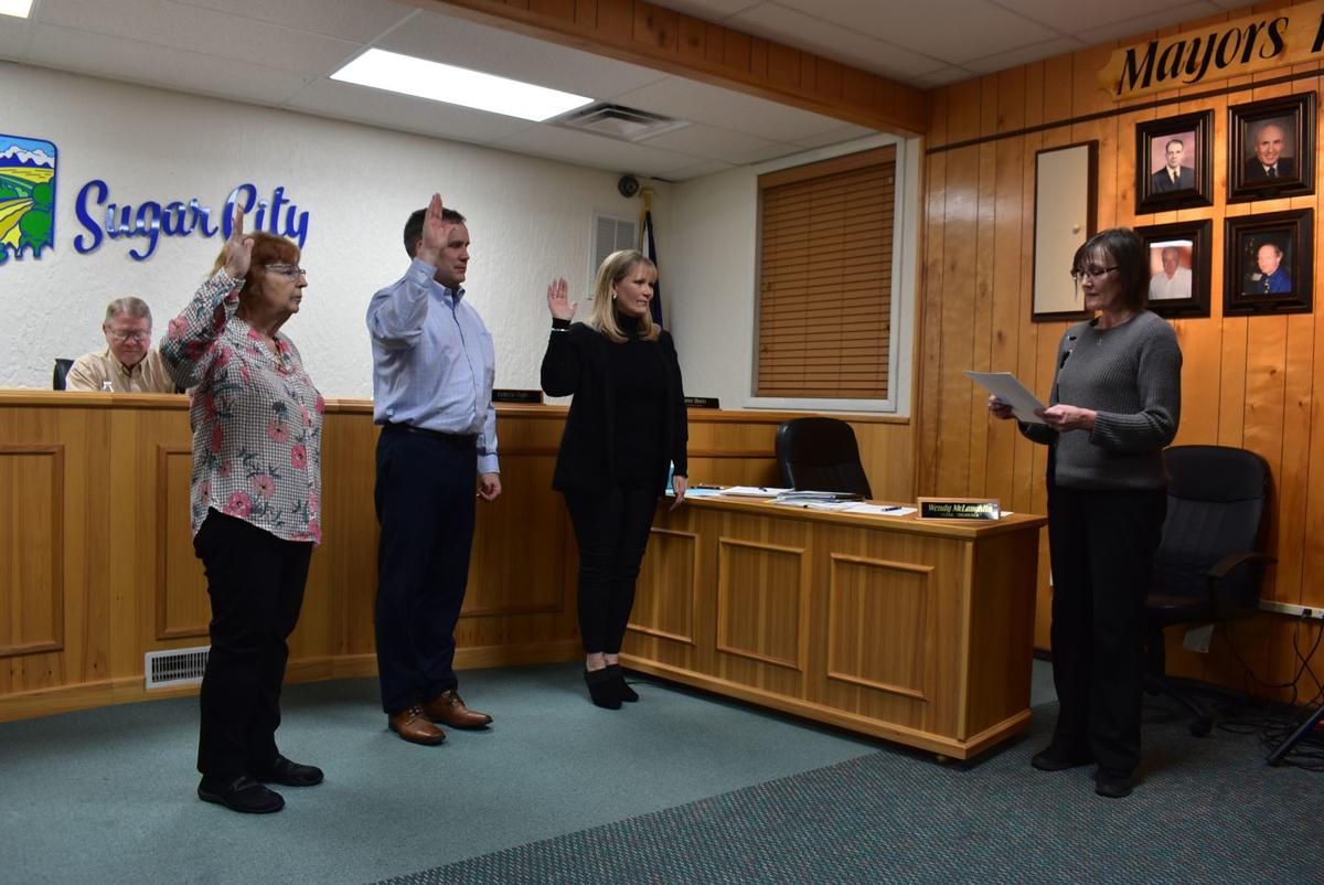 New Sugar City Council members sworn into office