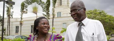 Ghana couple