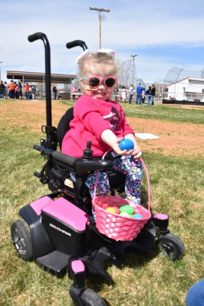 Fremont Search and Rescue provided handicapped children with Special Needs Easter Egg Hunt