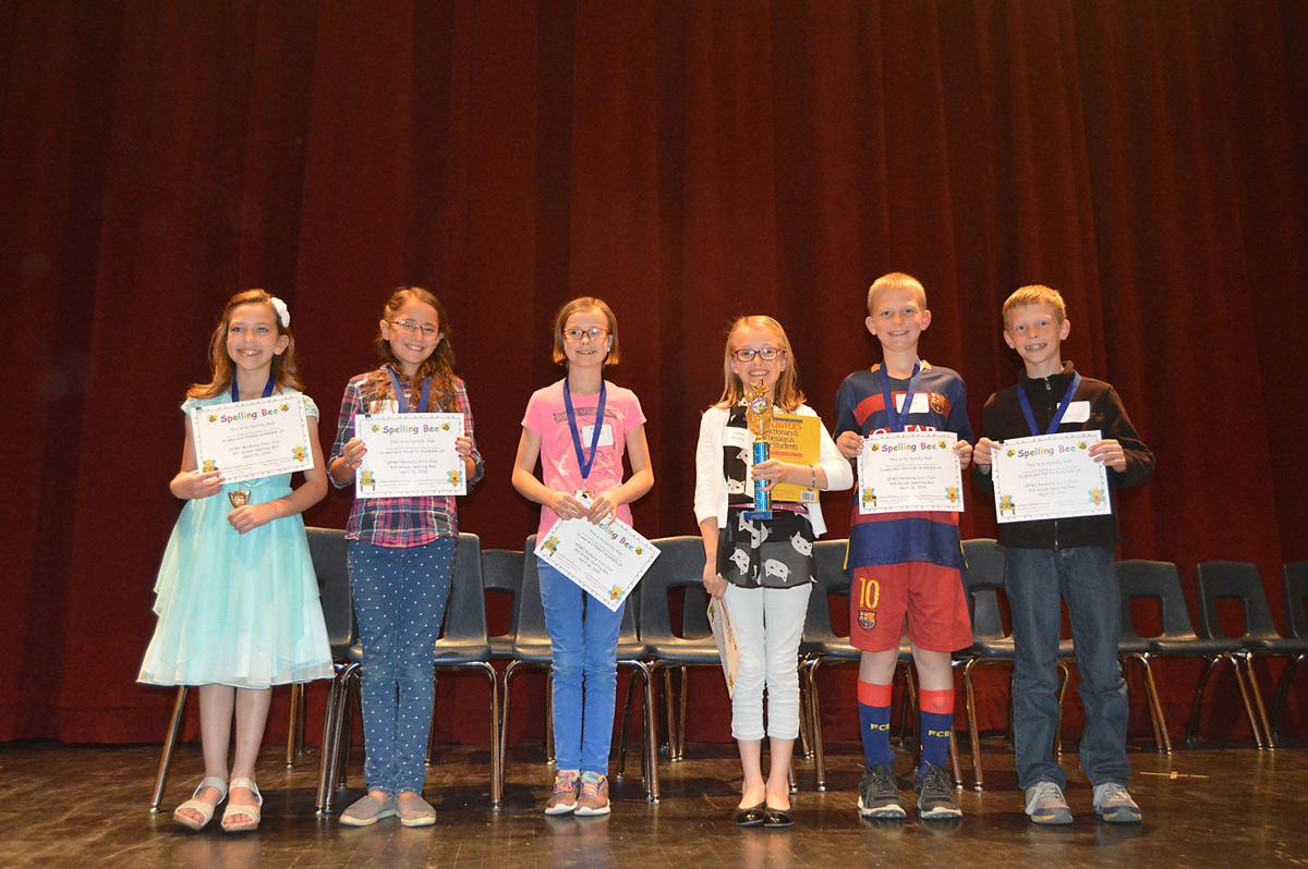 Fourth Graders Recognized For Success In Spelling Bee Education