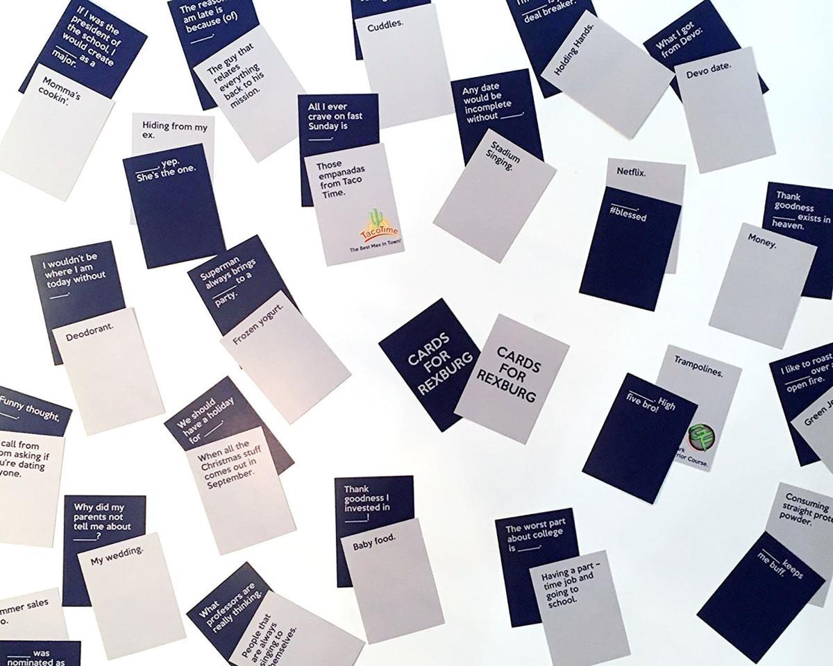 New Rexburg-themed card game created by BYU-Idaho students ...