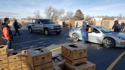 LDS Church USDA Farmers to Families giveaway (01/25)