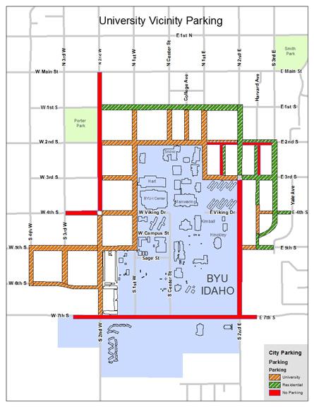 Rexburg expands parking permit zone | News | rexburgstandardjournal.com