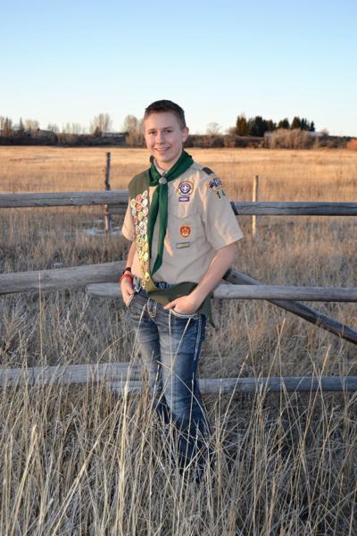 Jerek Rammell eagle scout