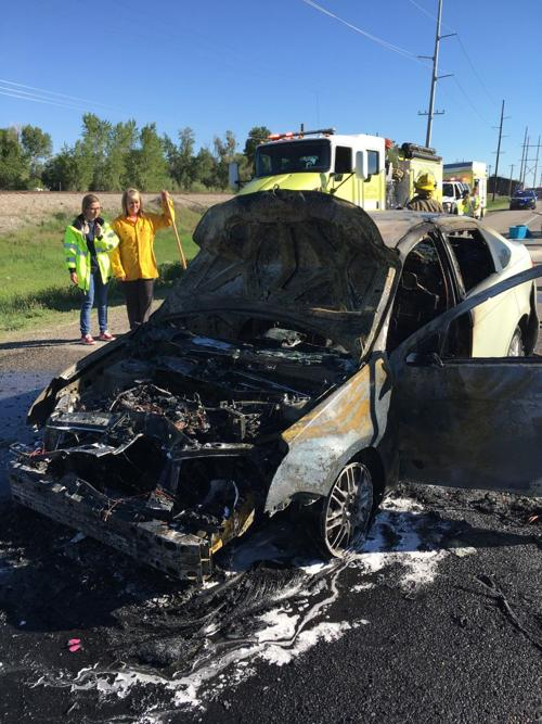 Two separate accidents block traffic Wednesday on Hwy 20