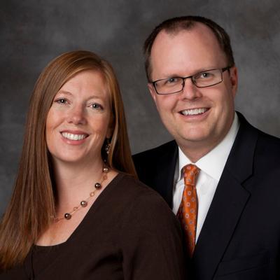 Brian K. Ashton and his wife, Melinda Earl Ashton.