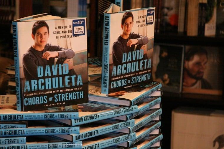 David Archuleta will be signing his book at Deseret Book in Rexburg Thursday night