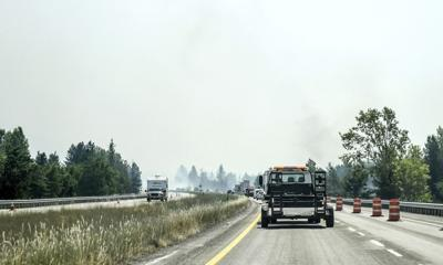 Idaho Wildfires Cataldo Smoke 7-9-21