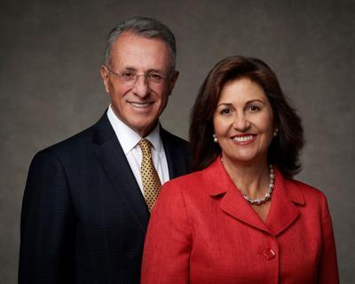 Elder Ulisses Soares and his wife, Rosana