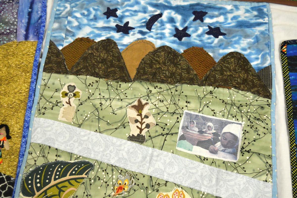 Refugee quilt
