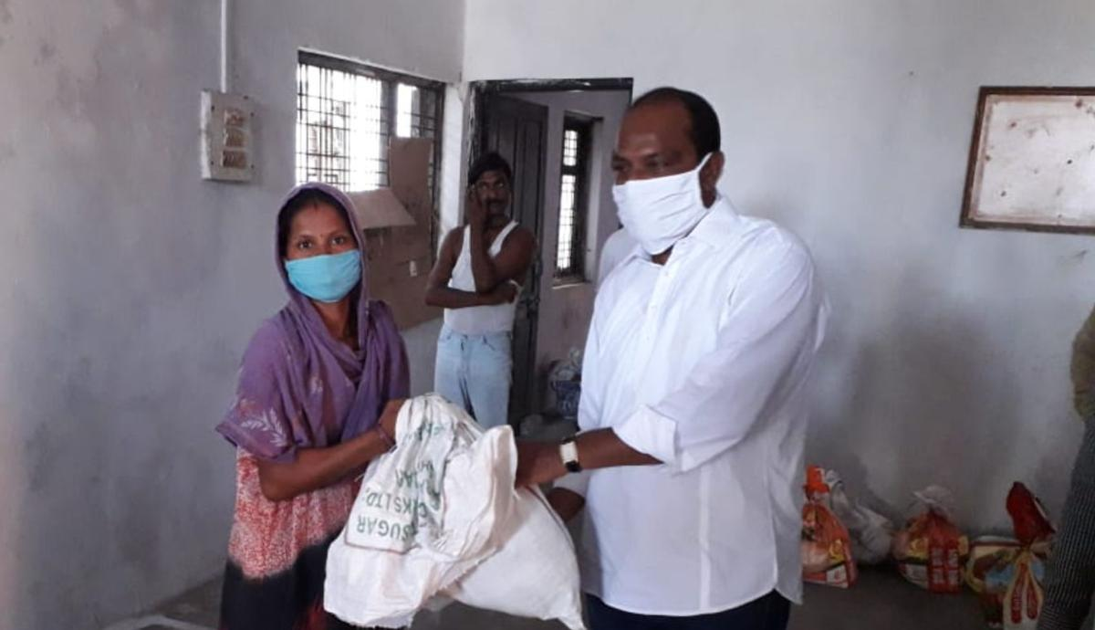 In the northern part of the city of Vidarbha in the state of Maharashtra in central India, food kits were also distributed to migrant workers impacted by the lack of work due to the lockdown in Maharashtra. The partnership between the Indian Society of the Church and the National Council of Churches in India (NCCI) also included a hospital bed donation in Bengaluru. This photo was taken on May 11, 2021.