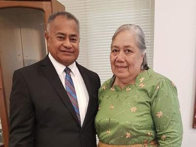 Tonga Temple President died on Thursday