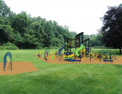 Nature Park playground render