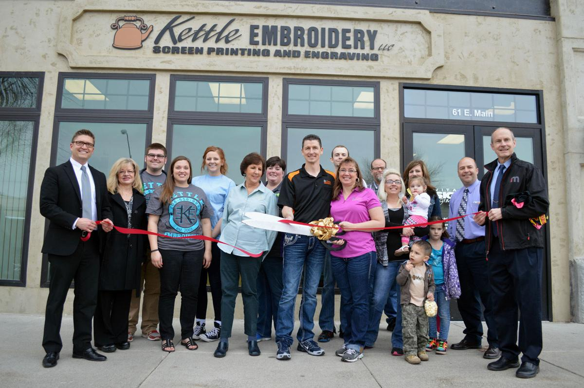 Kettle Embroidery Celebrates Grand Reopening Local News