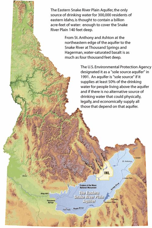 Approved Snake River Plain Aquifer Recharge Gets Approval News - Snake river world map