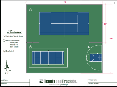 Ashton multipurpose court to be completed by July