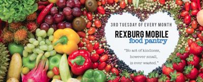 Rexburg Mobile Pantry holding emergency food distribution on Tuesday