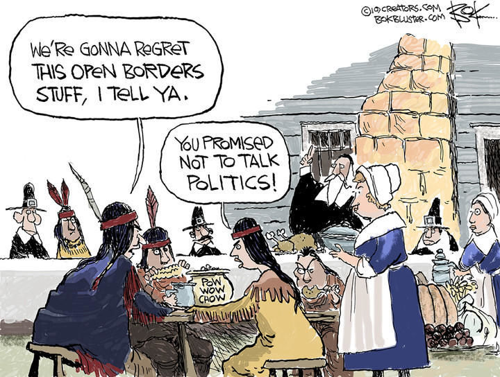 Thanksgiving 2019 Cartoon