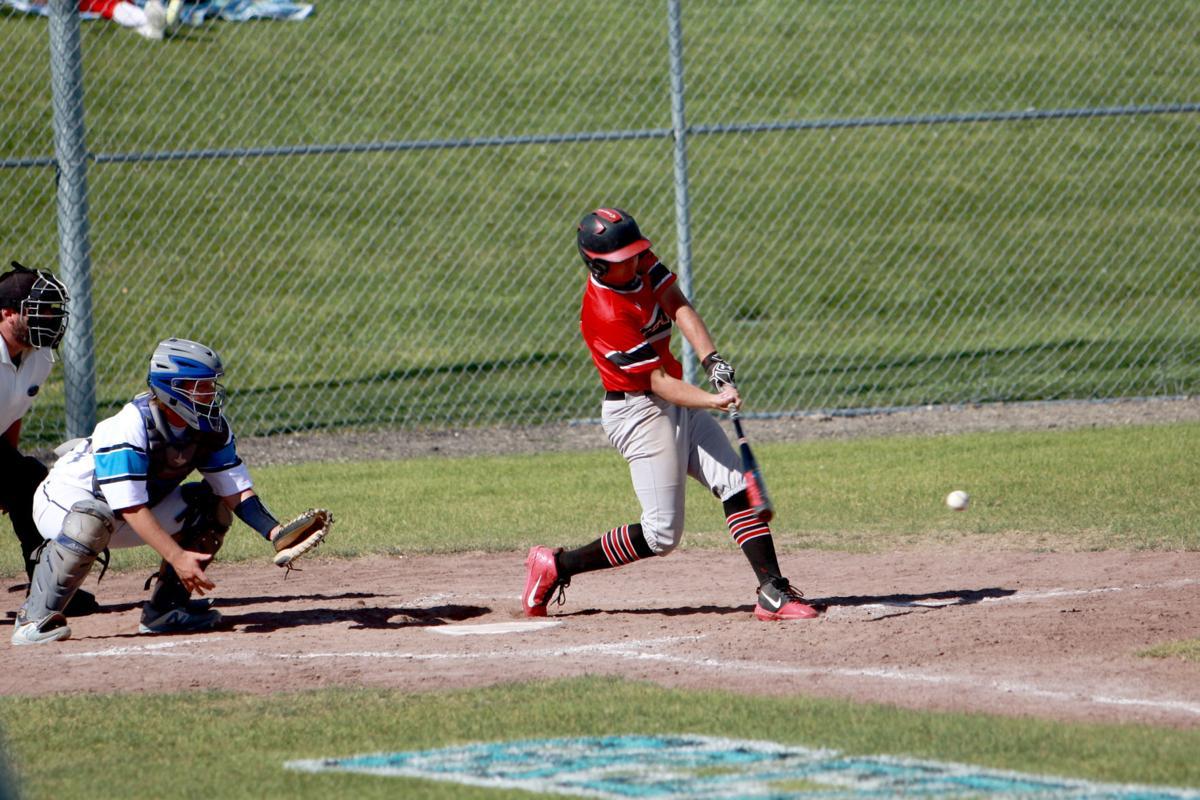 Kyler Yancey bats.