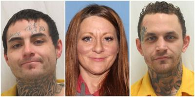 All three bank robbery suspects