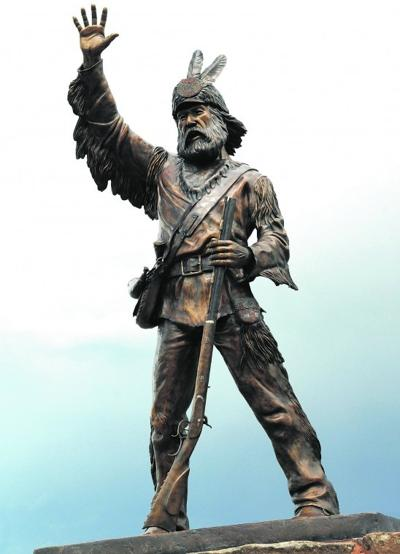 End Of May Is Goal For Mountain Man Statue In St Anthony News Rexburgstandardjournal Com
