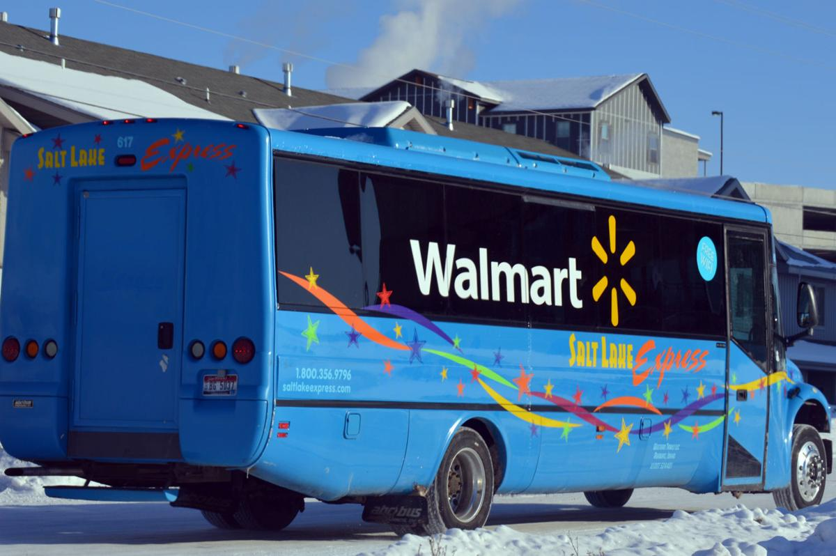Walmart begins free shuttle service for students and community walmart shuttle falaconquin