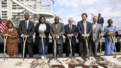 Church helps with ground breaking at African American Museum in South Carolina